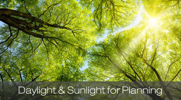 Daylight and Sunlight for Planning